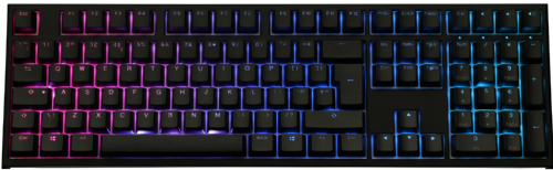 Ducky One2 RGB Backlit Black Cherry MX Switch